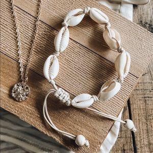 Seashell Beach Boho Adjustable Bracelet